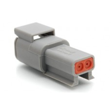ATM04-2P - 2 Pin Receptacle Size 20