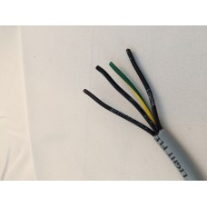 1001804 - 4 Conductor 18 ga. Numbered Wire (Per Meter)