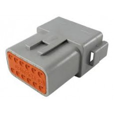 DT04-12P  - 12 Pin Connector Receptacle