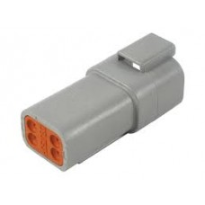 DT04-4P - 4 Pin Contact Receptacle