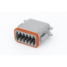 "DT06-12SA - 12 Contact Male Plug ""A"""