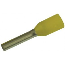 046300 - Yellow Wire Crimp Ends Per 500