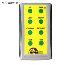 WORC118 - 8 Button Transmitter