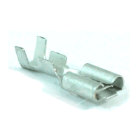 30075 - Female Spade Terminal for Relay Holder - Small Size