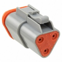 AT06-3S - 3 Pin Contact Male Plug