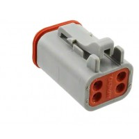 AT06-4S - 4 Pin Contact Male Plug