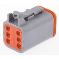 AT06-6S - 6 Contact Male Plug