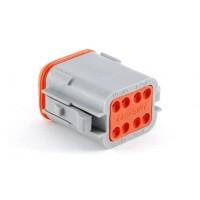AT06-08SA - 8  Contact Male Plug